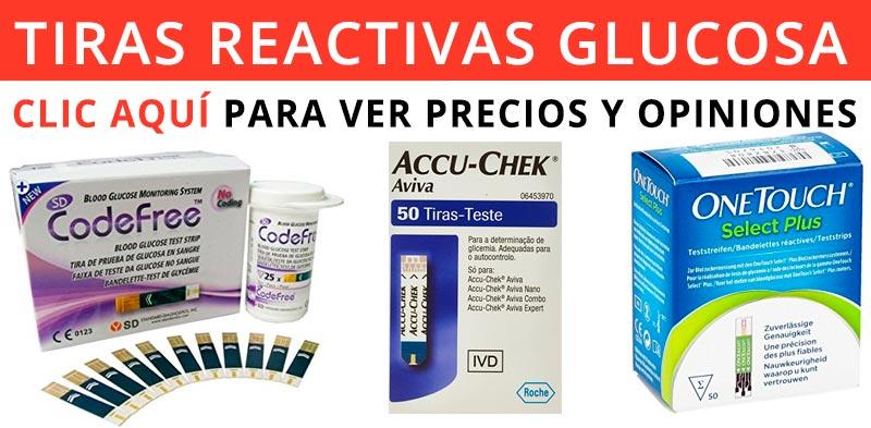 comprar tiras reactivas glucometro
