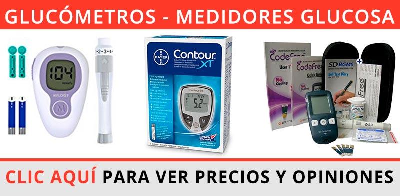 Comprar glucómetro - medidor de glucosa